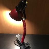 早期夾燈 閱讀燈 書桌燈 夾燈