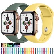 สายซิลิโคนสำหรับApple Watch,สำหรับApple Watch Band 42Mm 44Mm 40Mm 38Mm Apple Watch Series 6/5/4/3/2/1