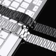 ✨E-GO-適用華米手表3代2/1表帶智能手表amazfit GTR GTS米動青春版表帶智能運動手環不銹鋼米蘭尼斯金屬