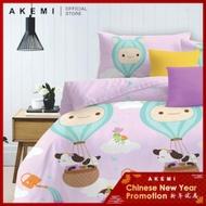 Akemi Cotton Essentials Jovial Queen Fitted Sheet