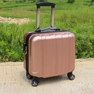 迷你登機箱18寸拉桿箱女小行李箱萬向輪16男商務旅行箱化妝包14寸