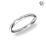 Zilvy  - แหวนทองคำขาว  (BR335)
