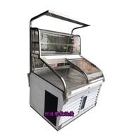《利通餐飲設備》海產櫥 海產展示櫃 展示冰箱