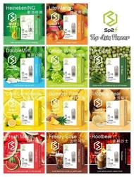 100% Original SP2 Vape Pods(Transparent)  Refill Flavour Relx Kit Compatible  Sp2 煙彈 適用于Relx 及SP2 烟桿 透明煙彈