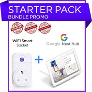 Google Nest Hub with free WiFi socket. Google home hub with Google assistant
