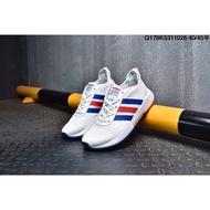 adidas GRAND COURT CAMPUS 寵物小精靈魔術貼皮面低幫板鞋