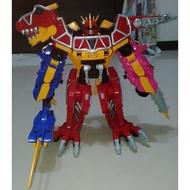 獸電戰隊 強龍者 強龍神 DX 合體 暴咬龍 劍針龍 鑽角龍