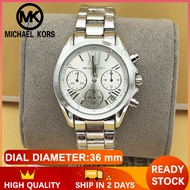 Michael Kors Couple Watch Original Sale Casual Formal Watch for Men and Women Mk Watch for Women and Men Pawnable Sale Original Authentic Silver 50m Waterproof Stainless Steel 5605SB