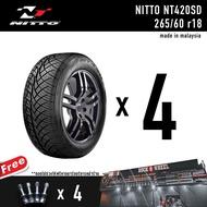 ยางรถยนต์ นิตโตะ NITTO NT420SD 255/50 r18  255/55 r18  265/60 r18 265/50 r20 made in malaysia NITTOSD