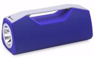 Bluetooth V5.0 Portable Speaker Led Flash Light Torch Usb Aux à Blue