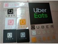Uber系列反光貼紙客制化