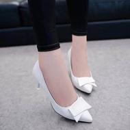 คัชชูหัวแหลมส้นสูงผู้หญิง รองเท้าส้นสูงแฟชั่นขายดี รองเท้าคัชชูส้นสูง 2 นิ้ว *** ราคา 289 บาท ***