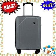 SALE!!! เบสิโค กระเป๋าล้อลาก ขนาด 24 นิ้ว รุ่น PC 18P017 SILVER 24 สีเงิน  แบรนด์ของแท้ 100% หมวดหมู่สินค้ากลุ่ม กระเป๋าเดินทาง ใบเล็ก กลาง ใหญ่ พอดี กระเป๋าล้อลาก