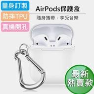【晨品】AirPods二代 AirPods無線藍牙耳機保護盒(蘋果 第二代AirPods專用)