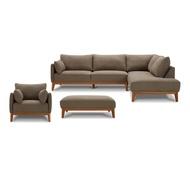 K-Motion 布面沙發組 (附椅凳)