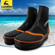 樂迪戶外低幫磯釣鞋 登礁海釣防滑靴毛氈底釘鞋 釣魚用品垂釣裝備