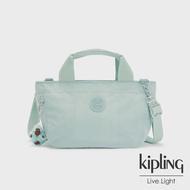 【KIPLING】神秘薄荷藍手提兩用斜背包-SUGAR S II