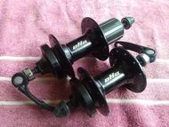 Ragusa R100 HuBs 8 to 10 speed Cassette Type Sealed 3 pawls 32 and 36holes with 9mm skewers and box
