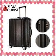 """#กระเป๋าเดินทาง 20/24/28 นิ้ว ใช้วัสดุABS+PC 8 ล้อ สามารถหมุนได้ 360 องศา มีรุ่นซิป และกันกระแทกได้ดี เหมาะกับการเดินทาง """"SiamTourist"""" 820"""