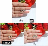anting titanium anak anti karat