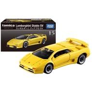 大賀屋 日貨 多美 TP15 藍寶堅尼 小汽車 模型 黑盒 Diablo SV TOMICA 正版 L00011695