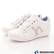 ◍零碼◍日本月星Moonstar機能女鞋爆米花系列3E寬楦抗菌輕量鞋款4041白(女段)SUPER SALE樂天購物節