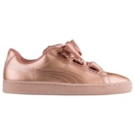 Puma Basket Heart W Copper Rose 玫瑰金 緞帶 365463-01