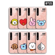 BTS BT21 Official Authentic Goods Face Mirror Light UP Case for iPhone