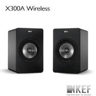 活動價$25990 【KEF官方】英國KEF X300A Wireless 【黑色】無線Hi-Fi主動式同軸書架音響喇叭
