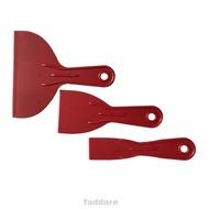 3pcs Small Large Spatula Putty Spreader Filler Scraper Set