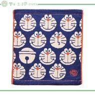 哆啦A夢 日本丸真 100%棉 小方巾 手帕
