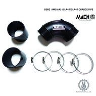 MACH5 高流量帶三元催化頭段 當派 排氣管 BENZ W176 AMG A45 底盤系統【YGAUTO】