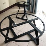 工業風 加粗 桌几黑砂鐵桌腳