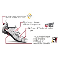 Lake TX312 Triathlon Shoe White 三鐵專用卡鞋(EU41)