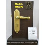 Solid Brass Locksets - Unique Designs