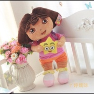 ㄚ婷媽咪 -  dora 正版愛探險的朵拉 毛絨公仔 布娃娃 玩偶 大隻特價 550