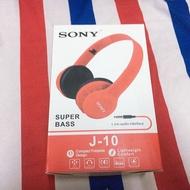 有線耳機 SONY SUPER BASS J-10 耳罩式耳機