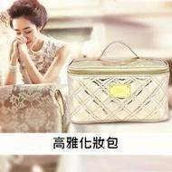 LRYX箱包 化妝包-菱格高雅多隔層好收納女防水袋2色