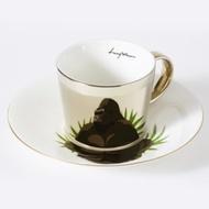 Luycho 韓國 鏡面倒影杯 咖啡杯 _ 猩猩