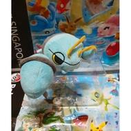 日本正版 中古品  Doll系列 藍龍蝦 鐵砲龍蝦 小型 神奇寶貝 精靈寶可夢 布偶 玩偶 毛絨