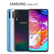 三星 SAMSUNG Galaxy A70 (A7050) 6GB/128GB 螢幕指紋辨識手機~送滿版玻璃保護貼+軍規保護殼+藍芽自拍握把