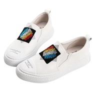 【ROBINLO】Messer 繽紛鑲鑽塗鴉休閒鞋-2742063002P白色 / 原價3000