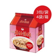 【台酒】紅標米酒麻油雞袋麵4袋/箱 (200g/包,3包/袋)