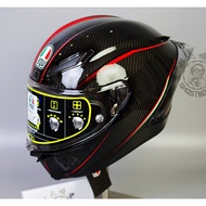 Shadow locomotive AGV pista gprr Rossi chameleon ice blue motorcycle carbon fiber helmet