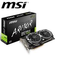 MSI 微星 GeForce GTX 1060 ARMOR 6G OCV1 PCI-E 獨立顯示卡 註冊四年保固