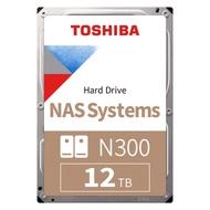 Toshiba N300 3.5吋 12TB 7200RPM/128MB NAS硬碟 BOX