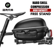 RALEIGH Bicycle Bag Quick Release Rack Rear Saddle Tail Mountain Bike Piggyback Hard Shell