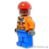 Lego超級市場·hirozuminifigu碼頭裝卸工人(76134)| lego玩偶 Brickers