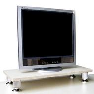 【美佳居】深24公分x寬60公分-桌上型置物架/螢幕架(白橡木色)