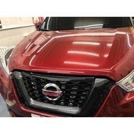 Nissan logo  kicks logo貼紙 水箱罩 鍍鉻貼紙 霧燈 霧燈貼紙